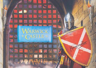 Photo Book Design & RetouchingWarwick Castle & Merlin Entertainments
