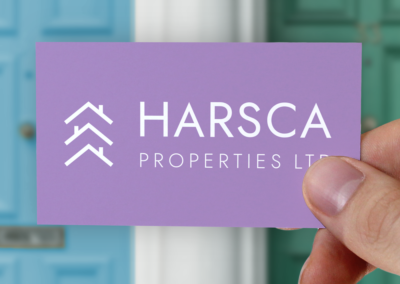Logo Design Harsca Properties Limited