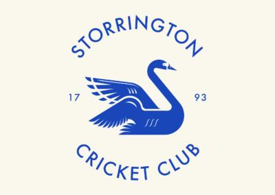 Logo Design Storrington Cricket Club